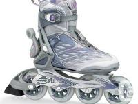 Roller blades just new for $65.00. Worn only a few