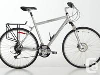 Norco Roma Road/Mountain Hybrid Bike.  Really gently