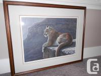 Ron Parker Rim Rock Cougar,1985 sold out signed