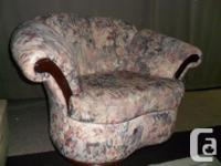 Matchiing couch, love seat, chair and chaise. Chaise as