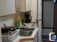 Pets No Smoking No Semi furnished room for rent