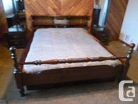 Bed room Suite 6 piece, Solid Pine with King Dimension
