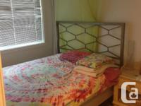 Pets No Smoking No I have a bedroom for rent (sublet)