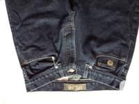 TWO PAIRS of ROOTS JEANS DARK NAVY COLOUR BOTH SIZE 30