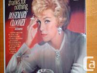 Rosemary Clooney - Thanks For Nothing Vinyl LP.