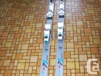 """Rossignol world cup shalom """"principle"""" ski's. Made in"""