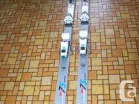 "Rossignol globe mug shalom ""concept"" ski's. Made in"
