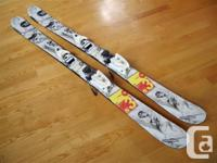 150cm Rossignol S3 twin-tip skis for sale. Designed by