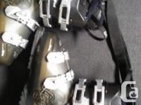 Will sell separately .. two pairs of ski boots and two