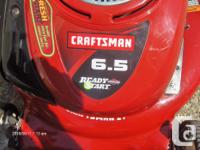 Craftsman Rotary Lawn Mower 6.5 Horsepower