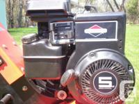 Homelite rototiller like new, maintenance and tune up