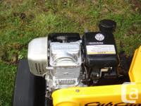 Cub Cadet 2017, 5 hp Rear tine tiller Tines travel