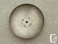 4 Rover Hubcaps in good condition, no rust. 10and 1/2