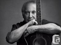 YES HERE!!! === GREAT UPPER BOWL SEATS!!! Paul Simon: