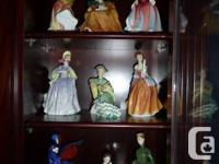 28 Royal Doulton figurines offer for sale. The majority