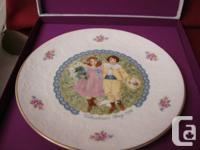 Royal Doulton Collector Plate.  Made in England.  Time