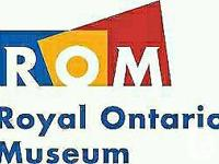 ROYAL ONTARIO MUSEUM = ROM SAVE $5 on Adult. BLUE WHALE