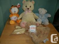 NEW pink & blue Teddy Bear, a very nice Gift for a Baby