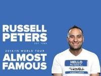 Russell Peters-- Almost Famous Globe Excursion.