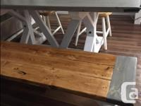The Rustic Craftsman Dining Table is proof that good