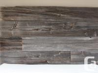 Selling a beautiful rustic, reclaimed barnwood King