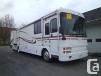 For sale: 2000 Fleetwood Discovery 38ft Diesel Pusher,