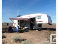 RV 5TH WHEEL TRAILER & FORD TRUCK COMBO ? GREAT