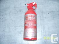 Red Gap Super 2 BC Dry Chemical Fire Extinguisher with