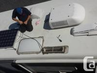 installations for solar electric systems for RV