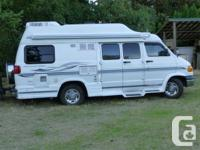 2000 pleasure way camper van 5.9 L fully loaded. 97,000