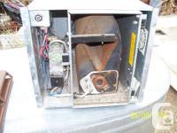 Duotherm model 66017-007 propane furnace. 17,000 BTU
