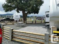 Beautiful RV Lot in Parksville, BC available for winter