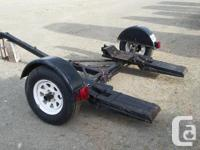 Demo tow dolly. 1985. Good condition. New tires. All