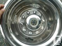- 16 inch Stainless RV Dually Wheel Hubcaps with 10 for sale  British Columbia