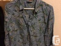 Hi! Selling a brand new Rw and co shirt. It�s lyocell