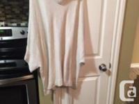 RW&CO Women�s Turtleneck Sweater w/ Tie Belt For Sale -