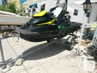 Like new rxt x 260 hp supercharged ski this is fast fun