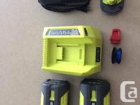 Almost $1200 worth of Ryobi One System Garden tools