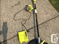 RYOBI String Timmer/Edger with 40 Volt Litthium-ion