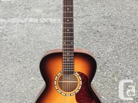 In on consignment, this guitar has had an after-market