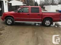Make GMC Model Sonoma Year 2002 Colour red kms 134