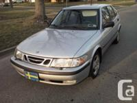 1999 SAAB 9-3. SAFE, rock solid, like driving a vault