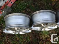 Set of 4 Saachi S2 Hypersilver rims in very good