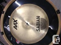 """Up for sale is a Sabian 16"""" Metal Crash. This cymbal"""