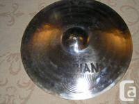 3 Sabian Cymbals in good condition-don't use them