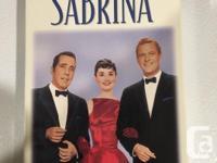 Sabrina VHS Tape with Audrey Hepburn, Humphrey Bogart
