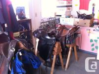 The Cowichan Therapeutic Riding's Used Tack Store is