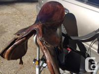 I have three saddles for sale 2 westerns and an