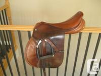 "I have 3 saddles for sale. 1. 15"" fqhbs Billy Cook"