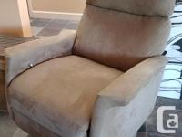 Recliner chair from Saeger's Original price $3,000
